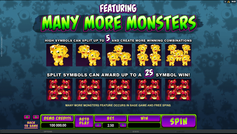 So Many Monsters Bonus