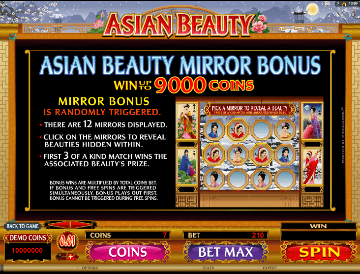 Asian Beauty Bonus