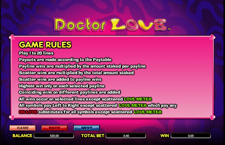 Doctor Love Rules