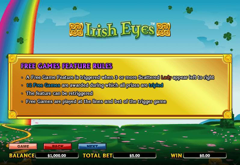 Irish Eyes Free Games 2