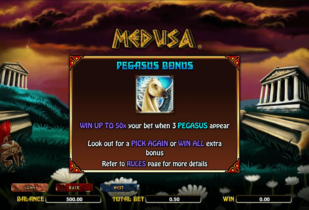 Medusa Bonus