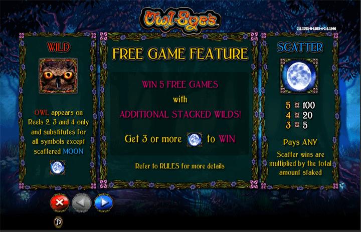 Owl Eyes Free Games