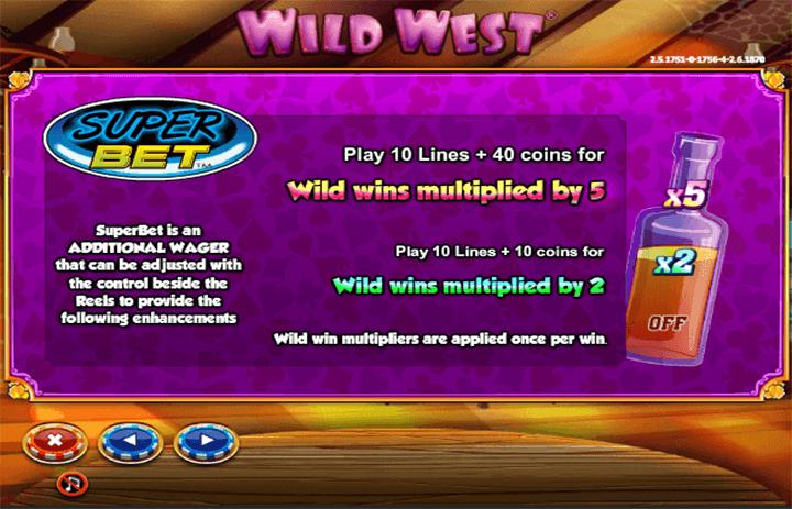 Wild West Bonus