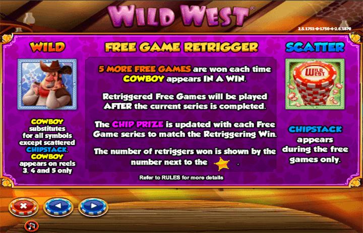 Wild West Free Spins