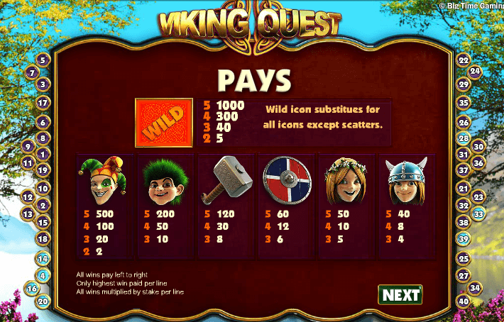 Viking Quest Pokies