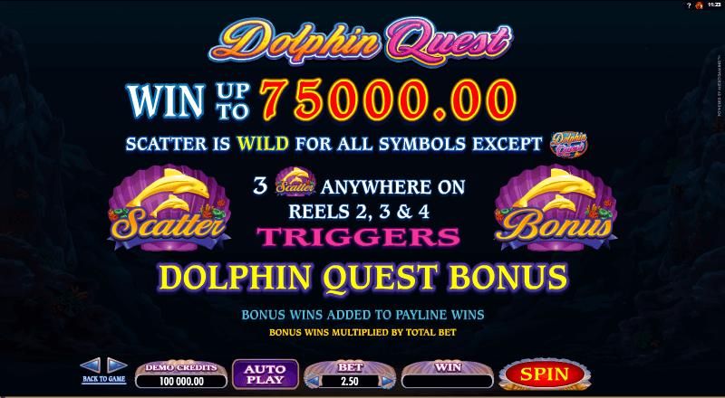 Dolphin Quest Bonus