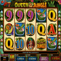 Queen of the Jungle Pokie